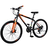 Rockford Mountain Bike   Steel Bicycle with High end L-Two 21 Gear  Unisex Adult Sports Cycle ...