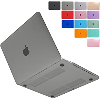 MS factory MacBook Pro 15 2019 2018 ケース カバー マックブックプロ 15インチ ハードケース Pro15 2017 2016 タッチバー 搭載 A1990 A1707 全14色 マット加工 グレー RMC series RMC-MBP15C-MGY