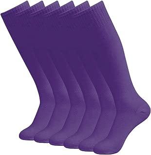 diwollsam Unisex Soccer Socks, Halloween Costumes Sport Long Tube Knee High Team Socks 2/6/10 Pairs