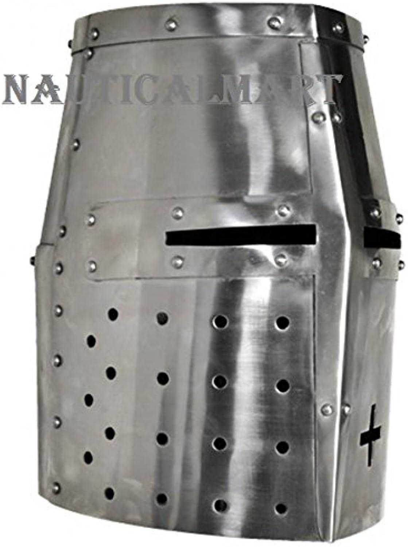 NauticalMart Medieval Templar Knight Crusader Armor Helmet