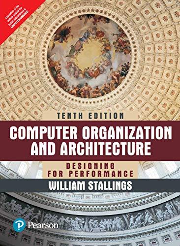 Computer Organization And Architecture, 10Th Edition