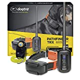 Dogtra Pathfinder TRX GPS Electronic Dog Tracking Collar for Large Dogs - 9-Mile Range, GPS Only, No Training Functions, UKC AKC Events Approved, Waterproof, Expandable to 21 Dogs, w/PetsTEK Clicker