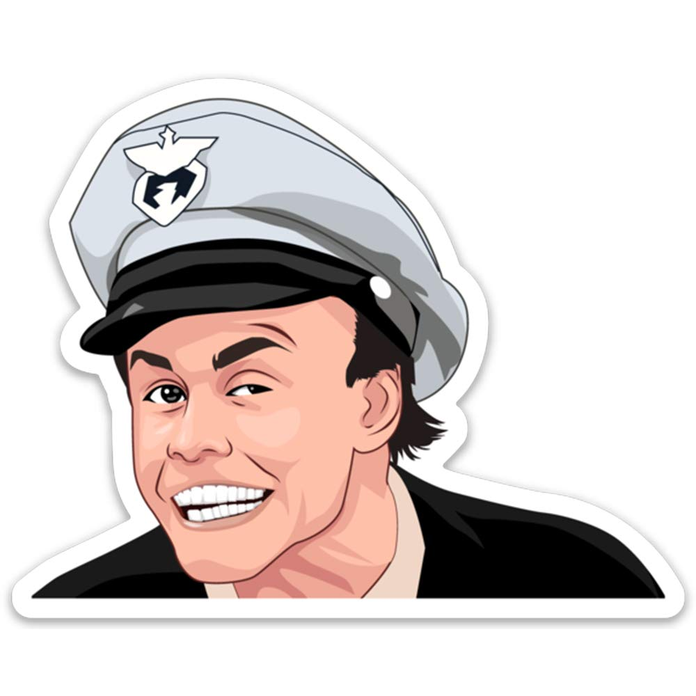 Fire Marshall Bill Sticker - 4 WaterProof Beauty products High order Vinyl Stickers Inch