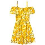 The Children's Place Girls' Cold Shoulder Floral Print Dress, North Star, S (5/6)