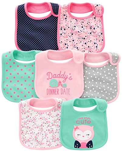 Simple Joys by Carter's Bebé-Niñas Not Applicable, Rosa (Pink/Mint), (Talla del fabricante: Talla única)