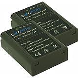 2 x Olympus BLN-1 PREMIUM Dot.Foto Batería de Reemplazo - 7.6V/1220mAh - Garantía de 2 años [Vea compatibilidad en la...