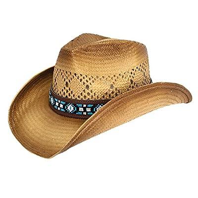Peter Grimm Carissa Drifter Cowgirl Hat for Women Tan