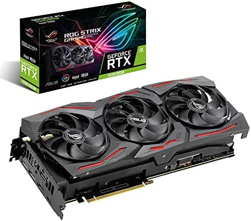 ASUS ROG Strix GeForce RTX 2080 Super Advanced Overclocked 8G GDDR6 HDMI DP 1 4 USB Type C Gaming product image