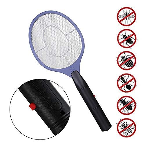 TIANZly Home Zanzara elettrica Zanzara Zapper Swatter Mosquito Killer Maglia di Sicurezza Cordless Anti Zanzara Bug Zapper Uso AA Batteria
