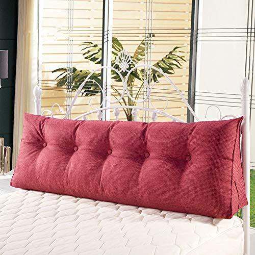ZFHNYJWKL Almohada triangular para cabecero, almohada de lectura, almohada de cuña, almohada de lectura, almohada para cabecero, respaldo de posicionamiento, almohada de cuña grande