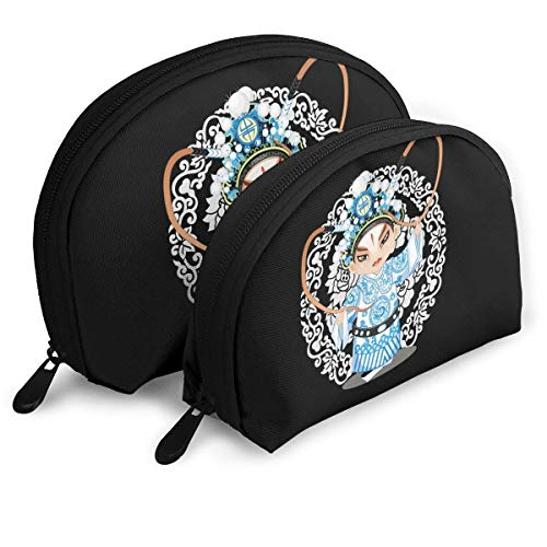 XCNGG Storage bag Chinese Beijing Opera Role Portable Travel Makeup Handbag Waterproof Toiletry Organizer Storage Bags