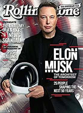 Rolling Stone Magazine (November 30, 2017) Elon Musk Cover