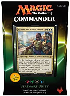 Magic the Gathering Commander 2016 Deck - Stalwart Unity (RGWU)