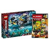 Lego Ninjago 71752 - Juego de ninja subacuática (incluye libro N.º...