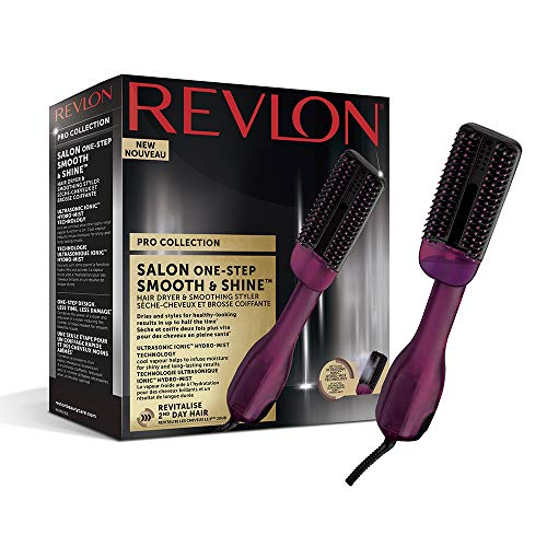 Revlon Pro Collection Salon One-Step Smooth & Shine - Secador y Alisadora de...