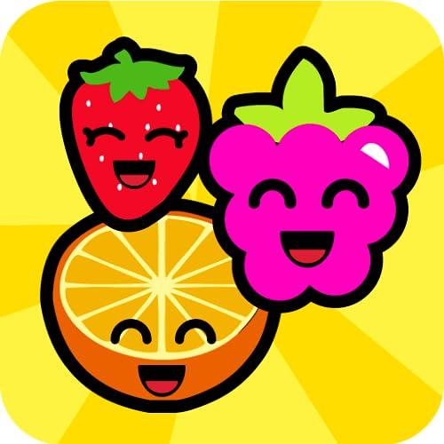 Smiley frutas Juegos de memoria