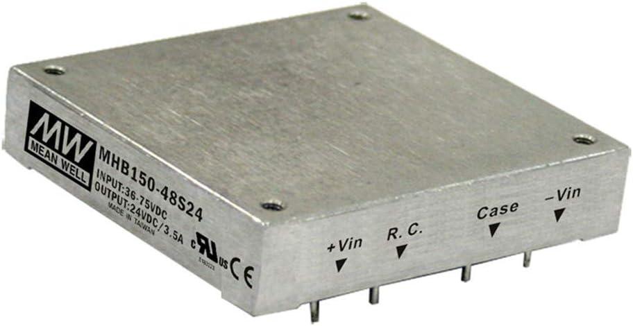 MEAN WELL MHB150-48S05 5V 0~30A 150W DC-DC Half-Brick Regulated Single Output Converter DC/DC Converter