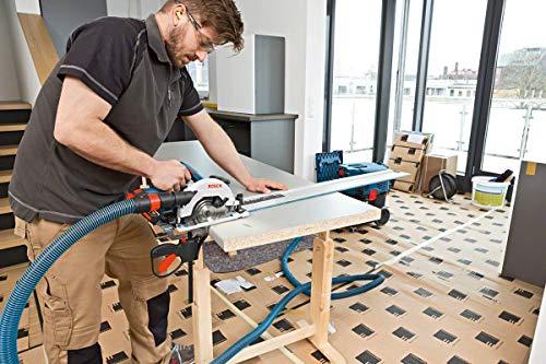 Bosch Professional GKS 18 V-57G Akku-Kreissäge, Sägeblatt-Ø 165 mm, Solo Version, L-BOXX, 1 Stück, 06016A2101 - 5