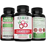 Cranberry Maximum Strength Urinary Tract Support - Non GMO & Gluten Free Antioxidant -Fight Infection & Support Immune System - Concentrate for Bladder & Kidney Health - Once Daily Softgels #2