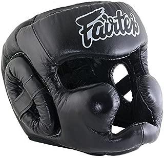Bangplee_Sport Fairtex HG13 Diagonal View Head Guard - Full Head Cover Version for Boxing Muay Thai MMA