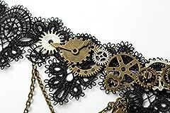 dream cosplay Lolita Choker Necklace Gothic Steampunk Accessory #2