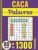 Caça Palavras: Portuguese Puzzle Game – Letras Grandes | Livro com...