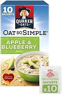 Quaker Oat So Simple Apple & Blueberry Porridge 10 x 36g