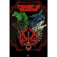 D&D Tyranny of Dragons (Hoard of the Dragon Queen/The Rise of Tiamat) Limited Edition Cover (DDN) (Dungeons and Dragons)