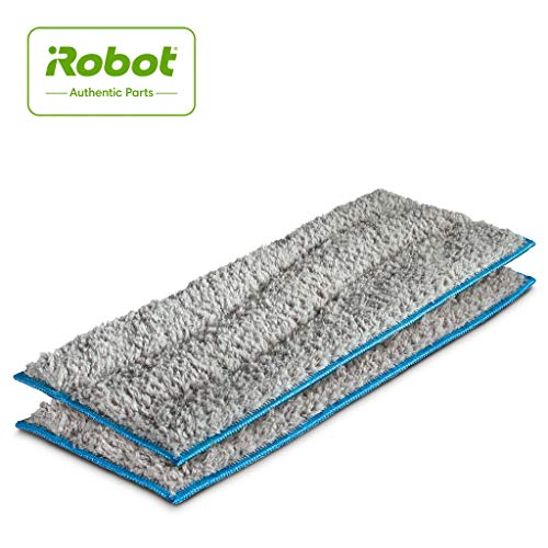 New iRobot  Authentic Replacement Parts- Braava jet m Series Washable Wet Mopping Pads, (2-Pack)
