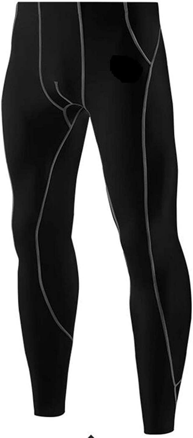 Sububblepper Men's Baselayer Pants Cool Dry Pants Compression Sports Leggings