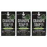 Grandpa's Soap Pine Tar 4.25 oz (Pack of 3)
