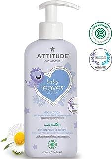 ATTITUDE Baby Leaves, Hypoallergenic Body Lotion, Almond Milk, 16 Fluid Ounce