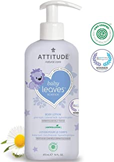 ATTITUDE Baby Leaves Science Natural Body Lotion Almond Milk 16 fl oz 473 ml