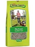 Classic Green Rasensaat Nachsaat - Reparatur| Grassamen | Rasensamen 10kg | Premium Rasensaat | Rasensaat Nachsaat | Rasensaatgut | Rasensaat Reparatur| Regeneration | Reparatur
