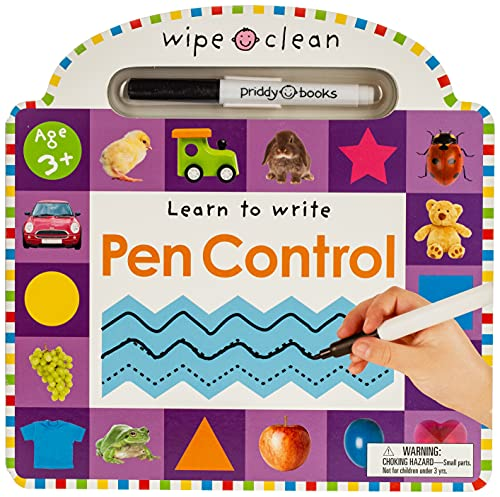 Wipe Clean: Pen Control (Wipe Clean Learning...