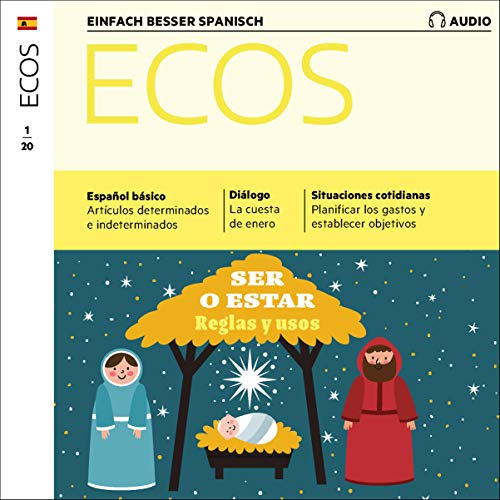 Ecos Audio - Ser o estar - Reglas y usos. 1/2020 cover art