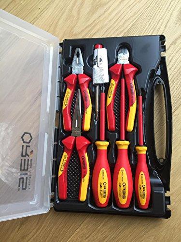 Orbis VDE Werkzeugkoffer 7 teilig VDE Toolbox