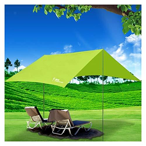 LXF JIAJU Tienda Al Aire Libre Pergola Sol De Plata Anti-UV Tienda De Campaña Grande Plegable Toldo De Tela De Coches (Color : Green, Size : 300CM(118 Inches))