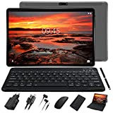 Tablet 10 Pulgadas Full HD Android 9.0 Tablet GOODTEL G3 Quad-Core, 4GB de RAM, 64GB de Memoria Interna, Escalable 128GB Dual Cámara 8000mAh Batería Bluetooth WiFi GPS, Type-C,Teclado,ratón - Gris