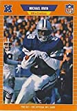 1989 Pro Set Football #89 Michael Irvin RC Rookie Card Dallas Cowboys The Official Card of the NFL. rookie card picture