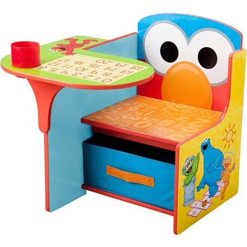 Sesame Stree Desk and Chair with Storage Bin