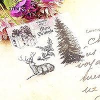 ホット販売クリスマスギフト透明なクリアスタンプ/シリコーンシールローラースタンプDIYスクラップブックアルバム/カードの生産