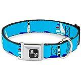Buckle Down dc-w30299-wl Sicherheitsgurt für Hunde, groß, Boote auf dem Wasser