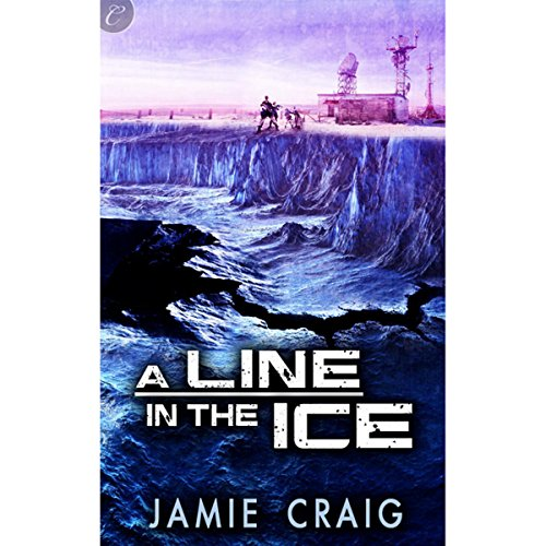 A Line in the Ice audiobook cover art
