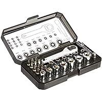28-Piece Amazon Basics Ratcheting Wrench and Bit Set