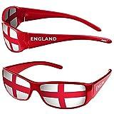 Taffstyle Fanartikel Sonnenbrille Fan Brille zur Fussball Weltmeisterschaft WM & EM Europameisterschaft 2016 Länder Flagge Style - England