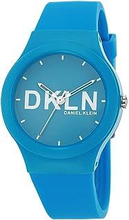 DANIEL KLEIN DKLN Plastic Case Silicon Band Ladies Wrist Watch - DK.1.12411-5