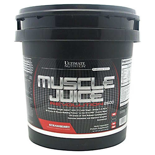 Ultimate Nutrition Muscle Juice Revolution Weight and Lean Muscle Mass Gainer Protein Powder