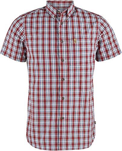 Fjallraven F81923-325 Övik Shirt SS M Deep Red M