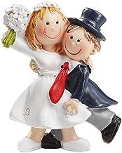Bruid en bruidegom, decoratie voor bruiloftstaart